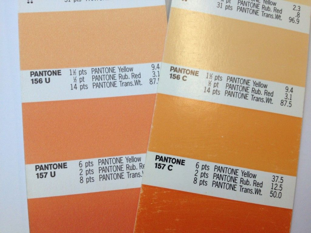 pantone coated versus uncoated