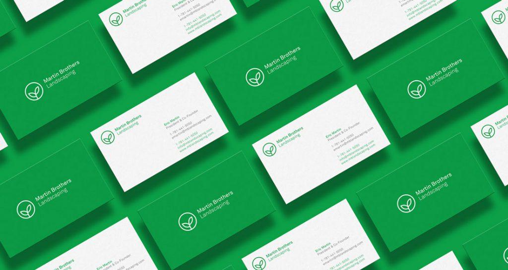 diseño gráfico tarjetas