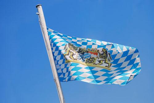 Bandera de Bavaria logotipo BMW