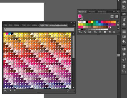 Como saber el pantone de un color con Illustrator